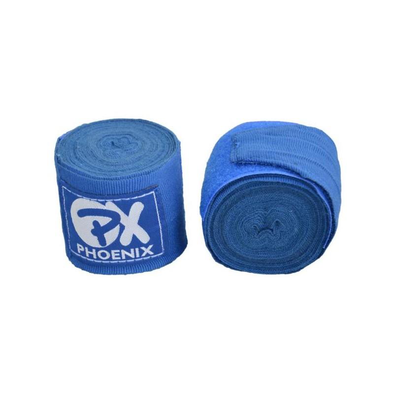 Phoenix PX Boxbandagen 350cm Blau