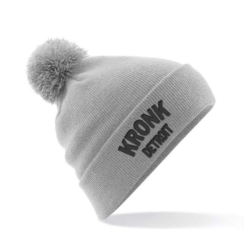 Kronk Detroit Bobble Ski Hat Grey