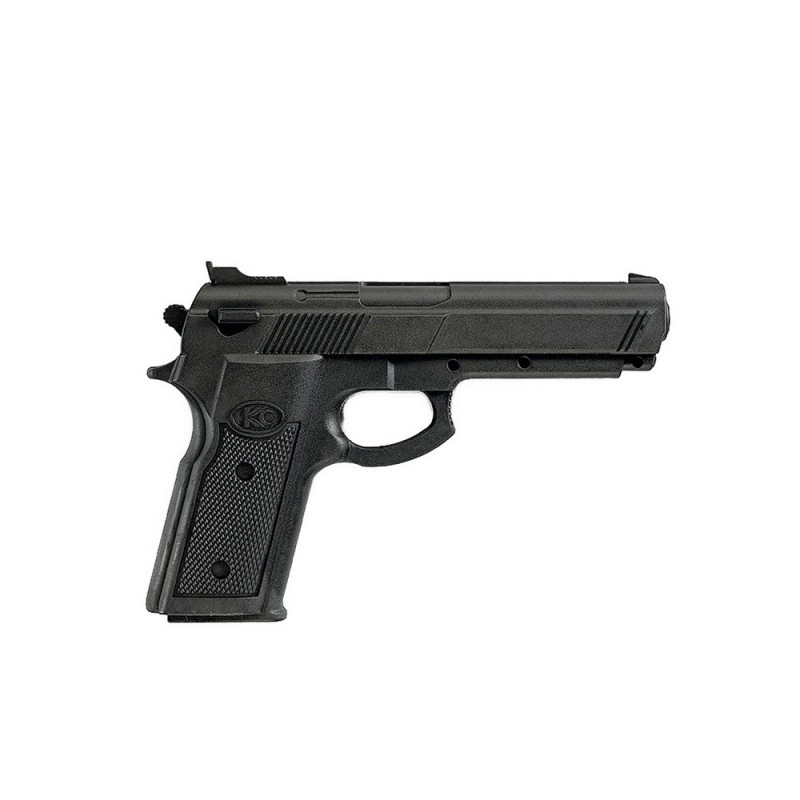 Kwon Plastik Pistole schwarz