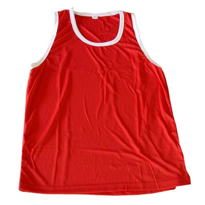 Boxerhemd Rot Weiss