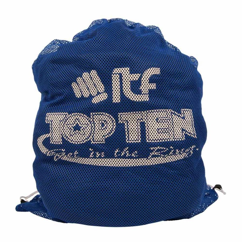 Top Ten itf Mesh Bag Blau 70cm