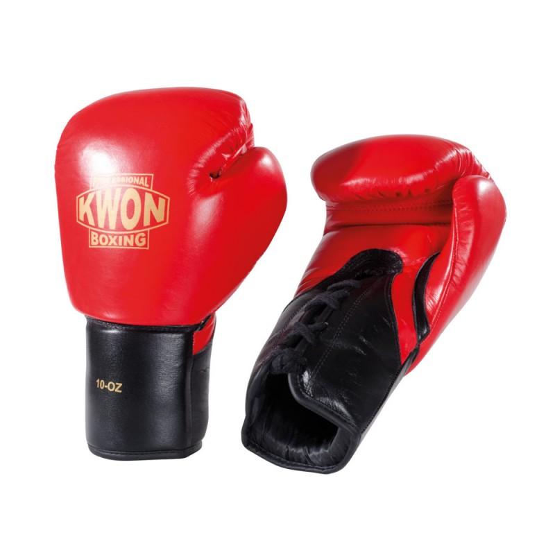Kwon Tournament Boxhandschuh rot 10oz