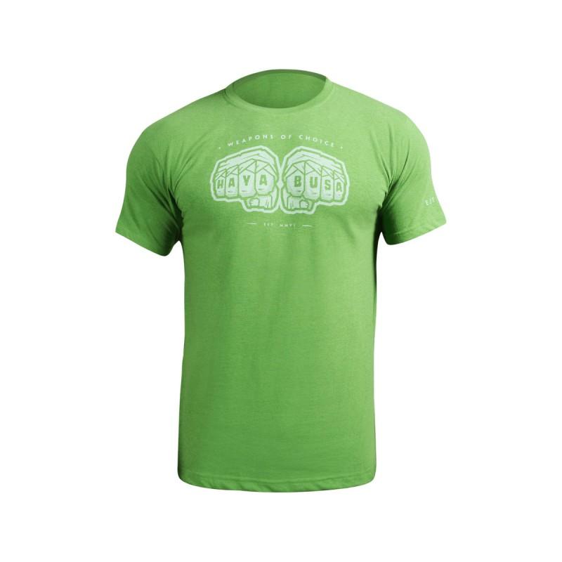 Abverkauf Hayabusa Weapons Of Choice T-Shirt Green