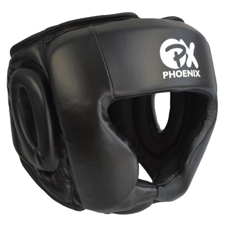 Phoenix PX Kopfschutz Kunstleder schwarz