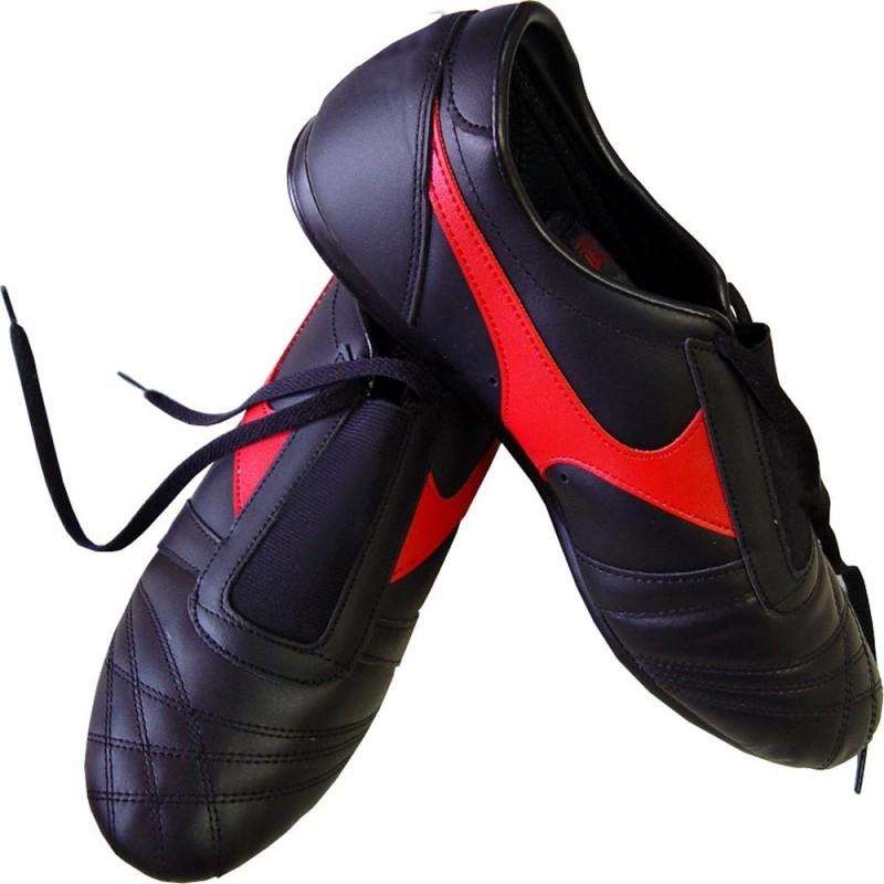 Taekwondo Schuhe Schwarz Rot