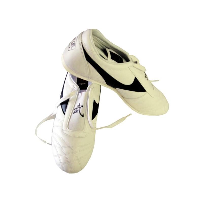 Taekwondo Schuhe Weiss Leder