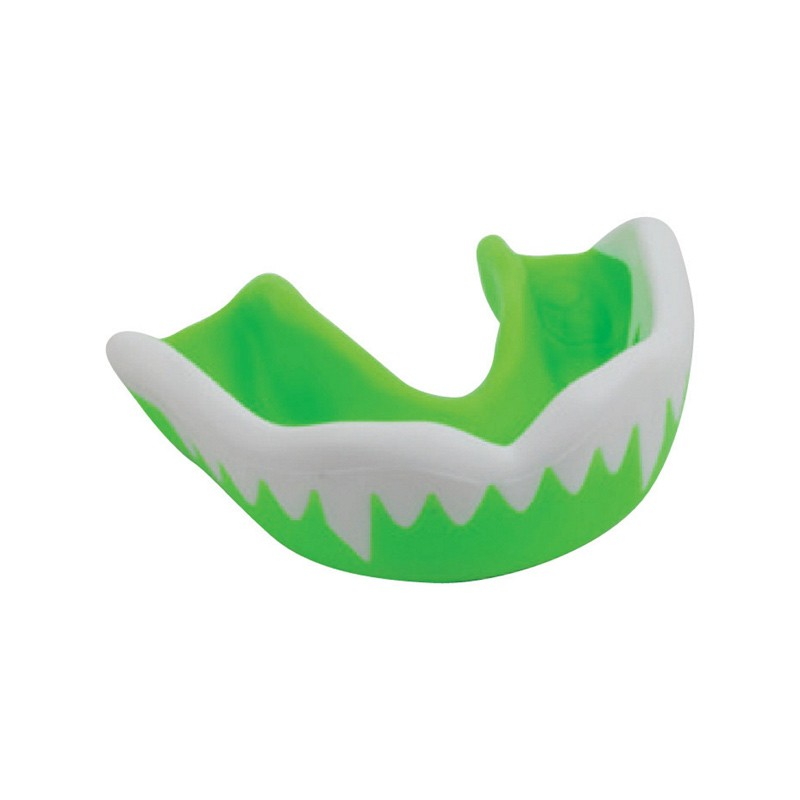 Gilbert Synergie Viper Green White Zahnschutz