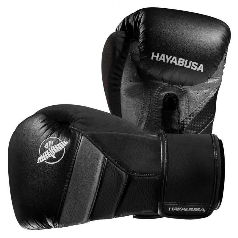Hayabusa T3 Boxing Gloves Black Grey
