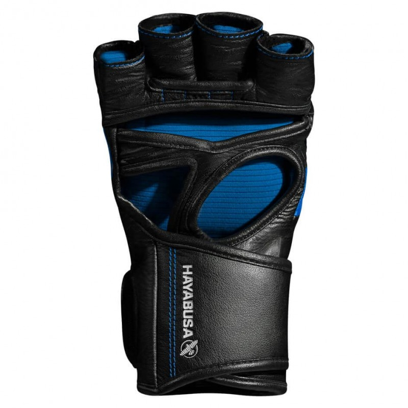 Hayabusa T3 4oz MMA Gloves Black Blue