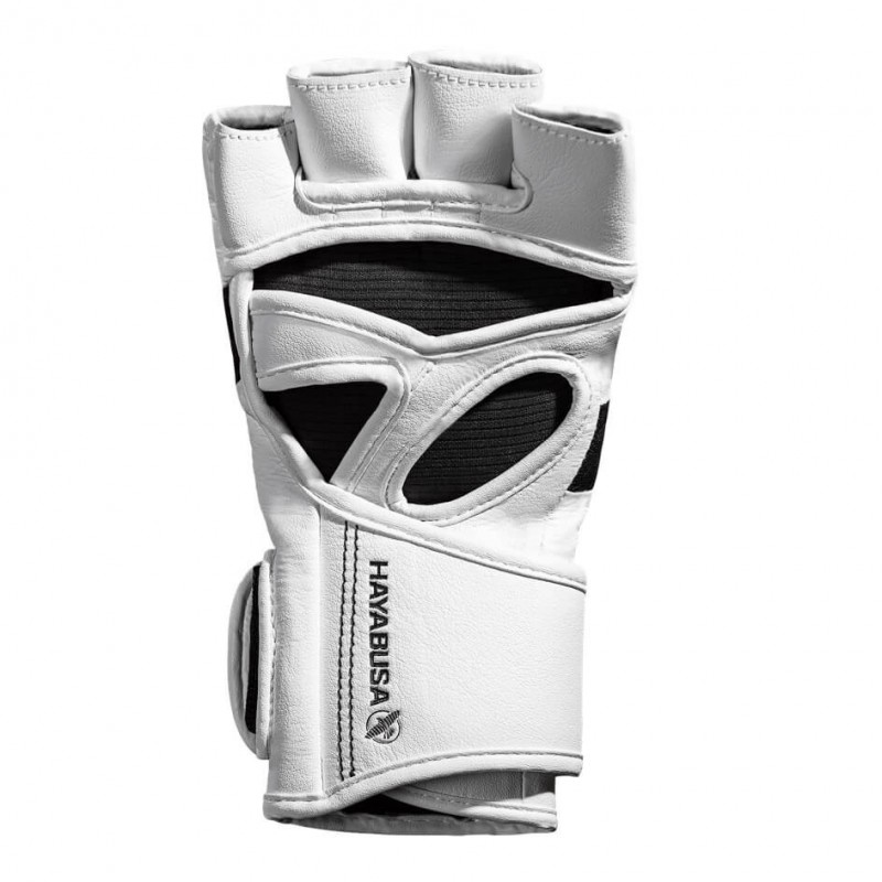 Hayabusa T3 4oz MMA Gloves White Black