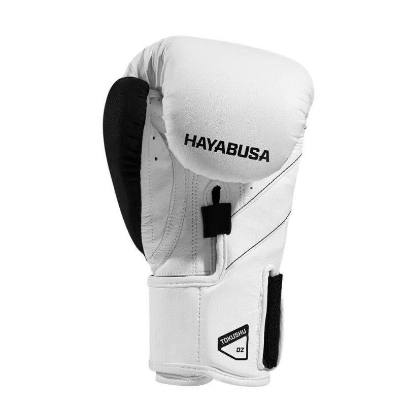 Hayabusa T3 Boxing Gloves White Black