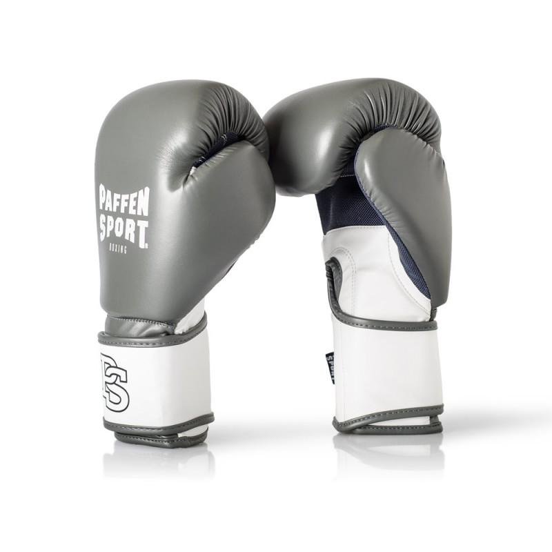 Paffen Sport Fit Boxhandschuhe Training Grau Weiss