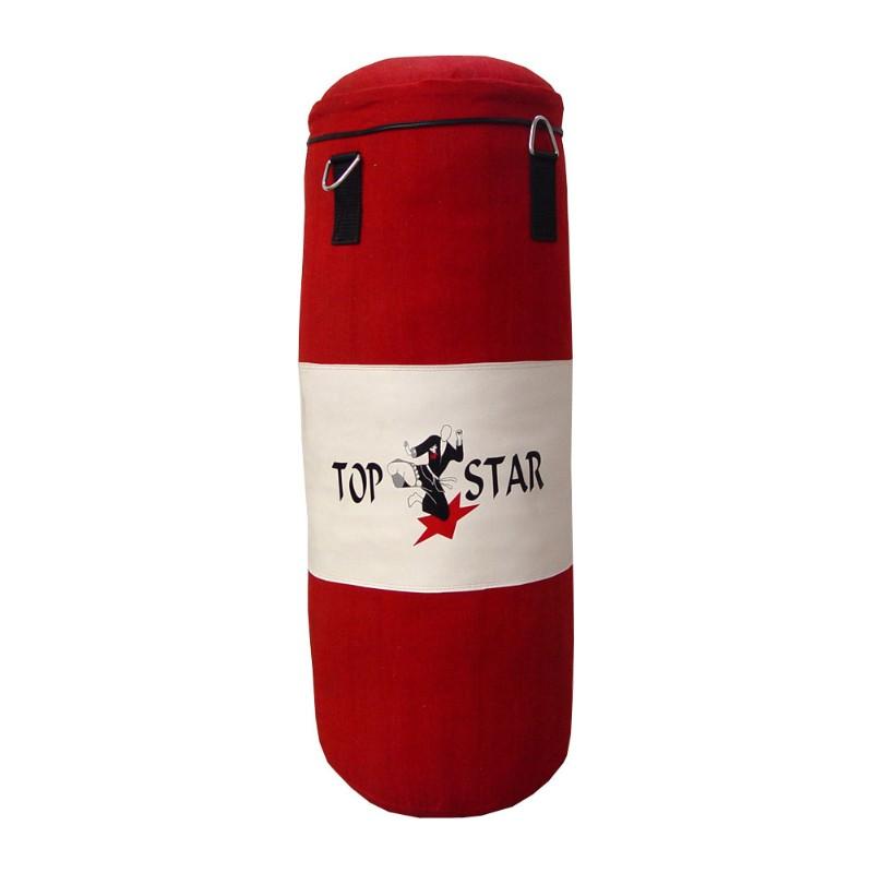 Boxsack Rot Weiss 120cm Ungefüllt