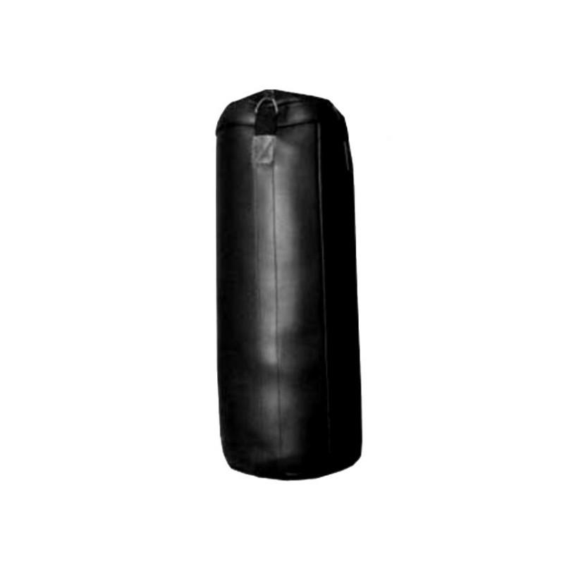 Boxsack Kunstleder Schwarz 100cm Ungefüllt
