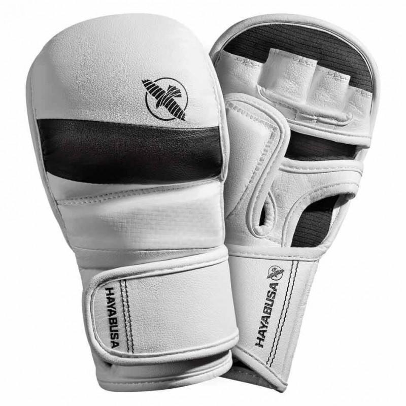 Hayabusa T3 7oz Hybrid Gloves White Black