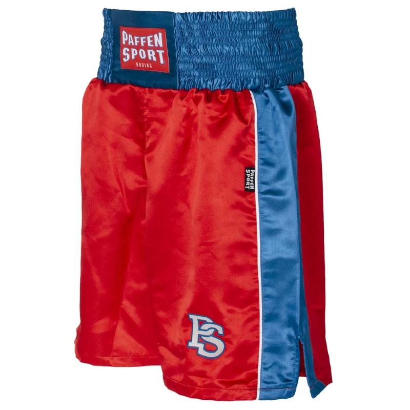 Paffen Sport Kids Boxerhose Rot Blau Weiss