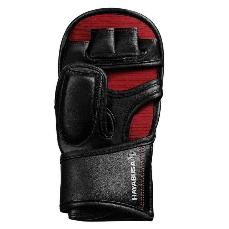 Hayabusa T3 7oz Hybrid Gloves Black Red