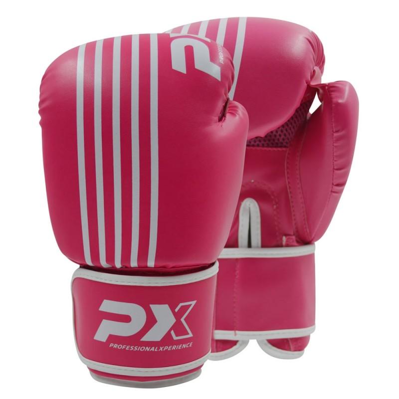 Phoenix PX Boxhandschuhe SPARRING PU pink weiß