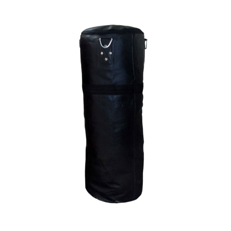 Boxsack Leder Schwarz 150cm Ungefüllt