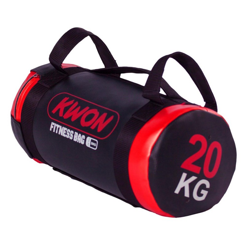 Kwon Fitnessrolle schwarz rot 20kg
