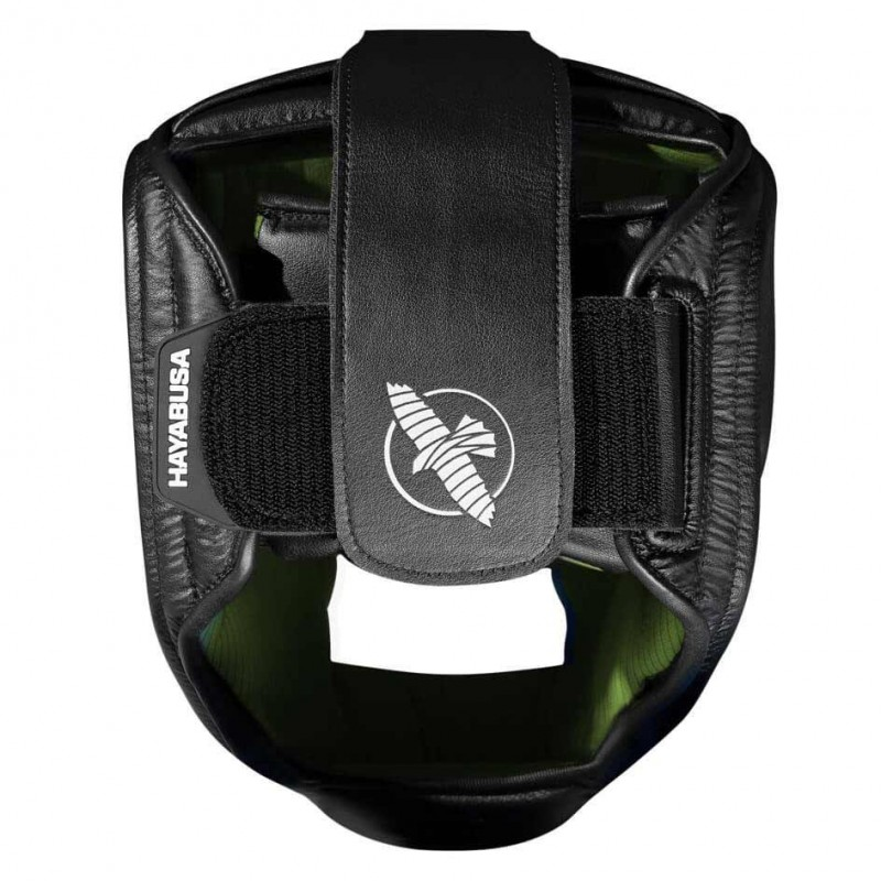 Hayabusa T3 Headguard Black Green