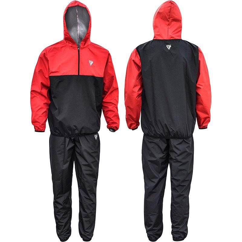 RDX Sauna Suit S6 schwarz rot