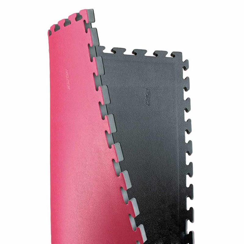 Kwon Wendematte Noppenstruktur 2.5cm schwarz rot