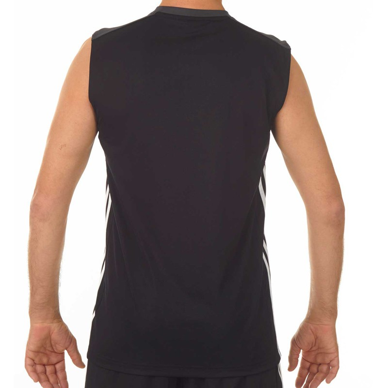 Abverkauf Adidas T16 Climacool SL T-Shirt Männer Schwarz Grau AJ5281