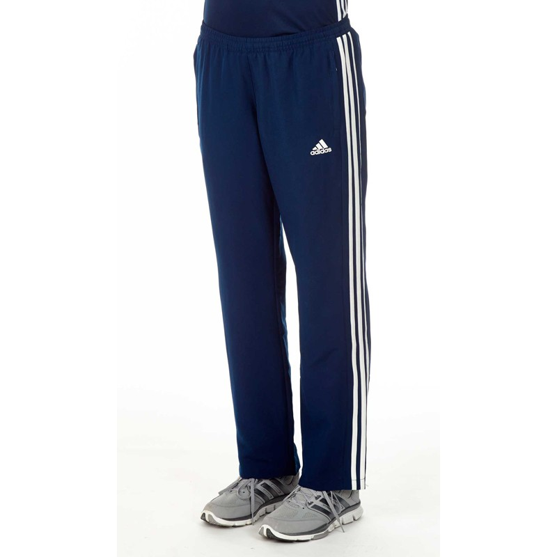 Abverkauf Adidas T16 Team Hose Damen Navy Blau Weiss AJ5315