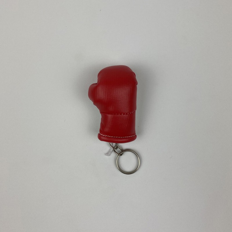 Schlüsselanhänger Boxhandschuh Red