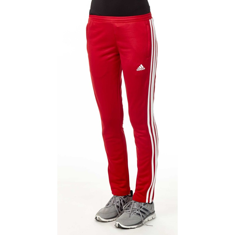 141ad380bd55 Adidas T16 Team Sweat Hose Damen Power Rot Weiss AJ5392 günstig ...