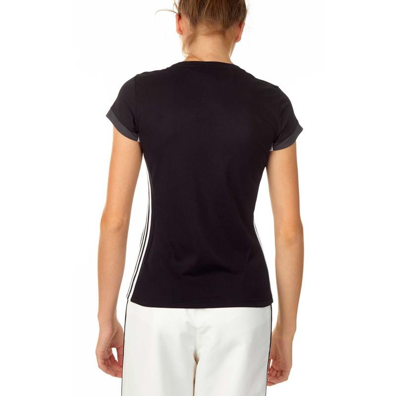 Abverkauf Adidas T16 Team T-Shirt Damen Schwarz Weiss AJ5301