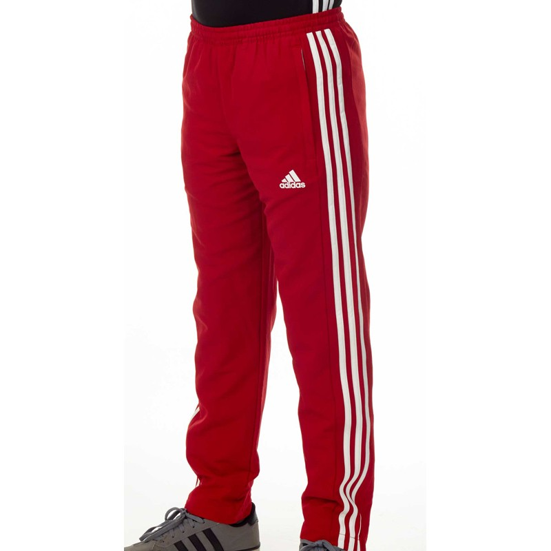 Abverkauf Adidas T16 Team Hose Kids Power Rot Weiss AJ5312