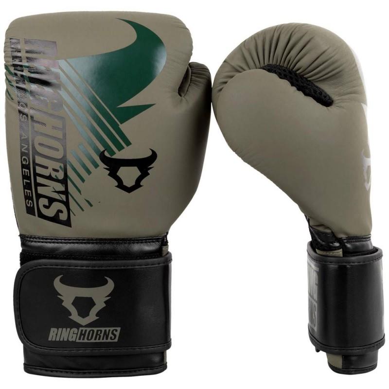 Ringhorns Charger MX Boxing Gloves Khaki