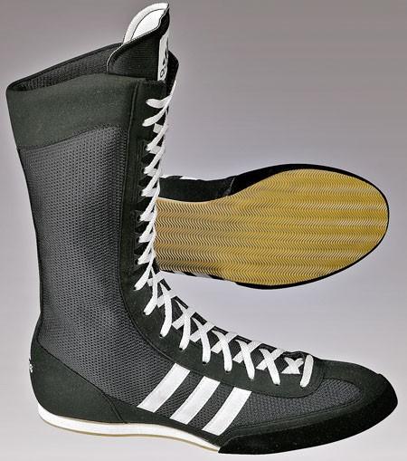 boxstiefel adidas schwarz