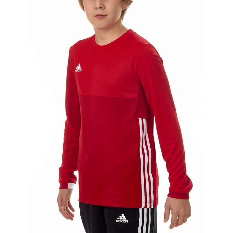 Abverkauf Adidas T16 Climacool LS T Shirt Jungen Power