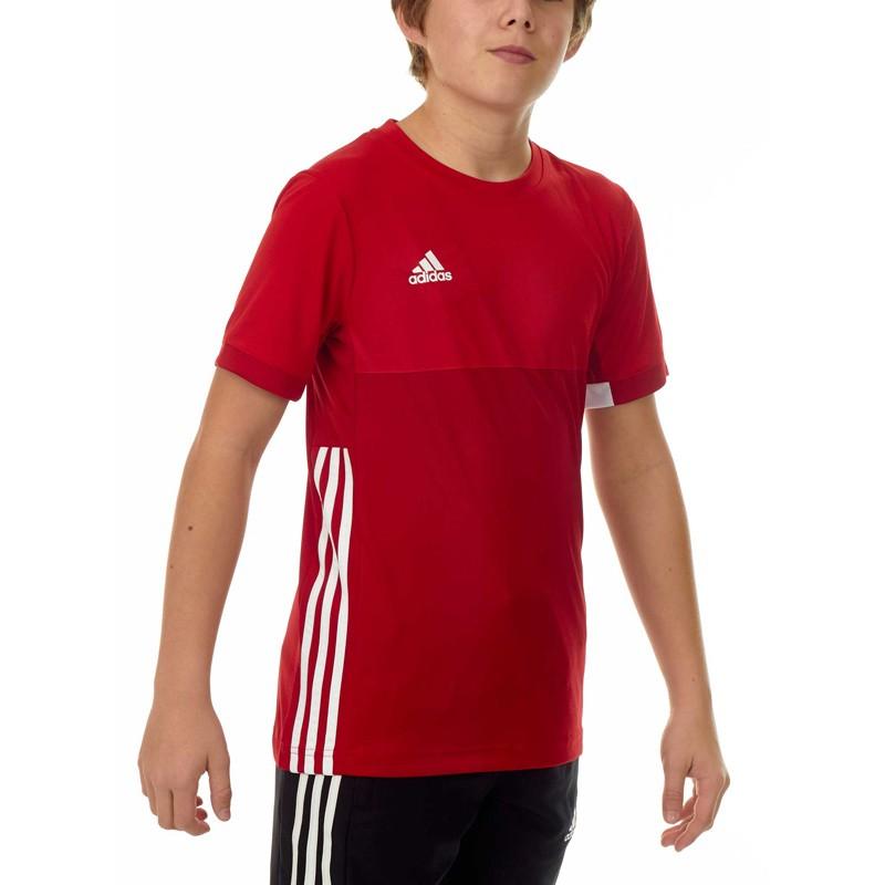 Abverkauf Adidas T16 Climacool T Shirt Jungen Power Scarlet