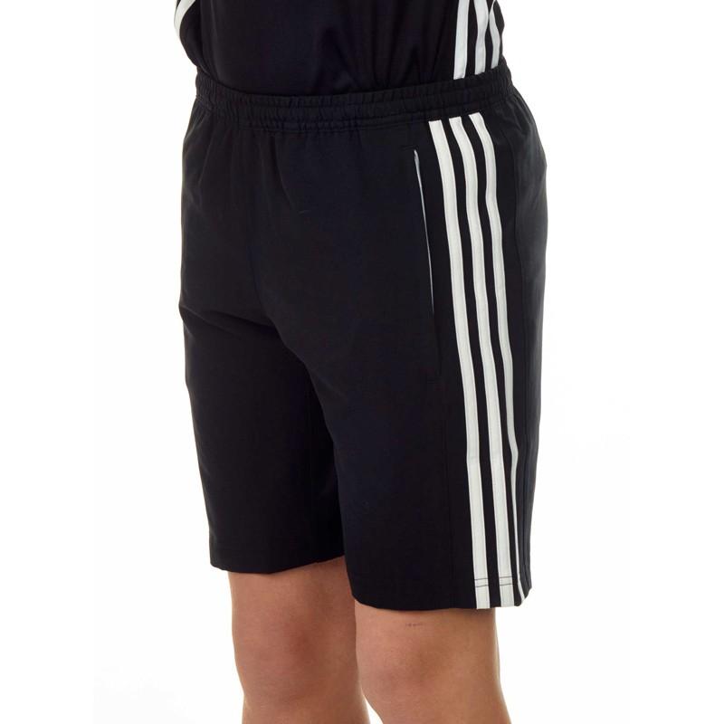 Abverkauf Adidas T16 Climacool Woven Short Kids Schwarz Weiss AJ5285
