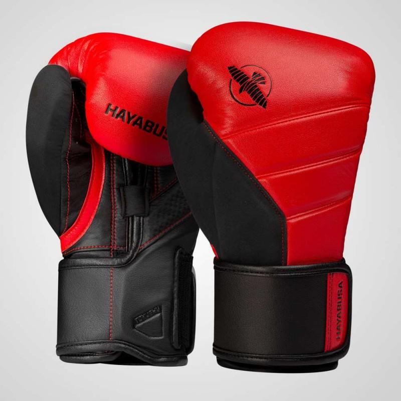 Hayabusa T3 Boxing Gloves Red Black