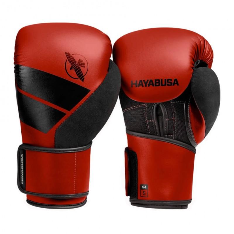 Hayabusa S4 Boxing Gloves Red