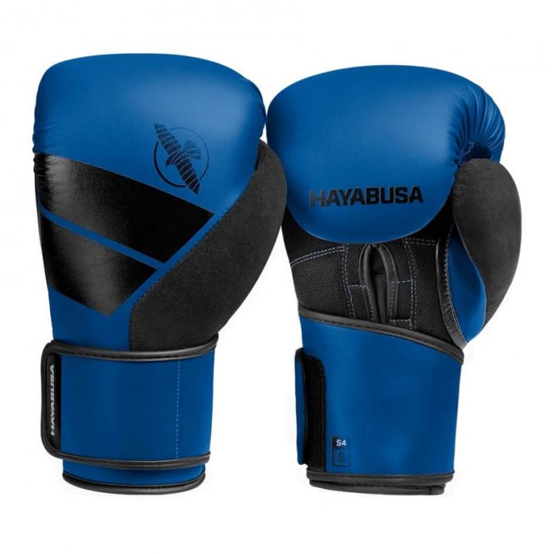 Hayabusa S4 Boxing Gloves Blue