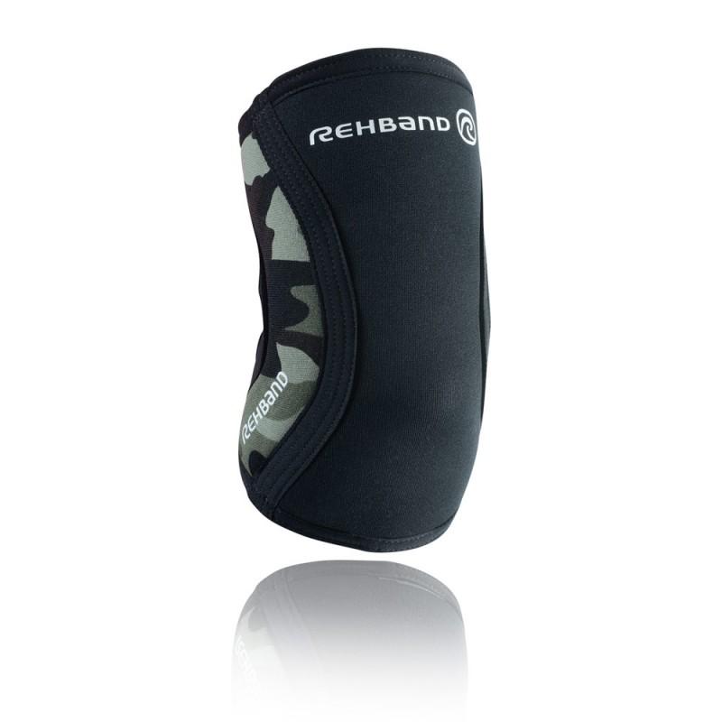 Rehband RX Ellbogenbandage 5mm schwarz camo