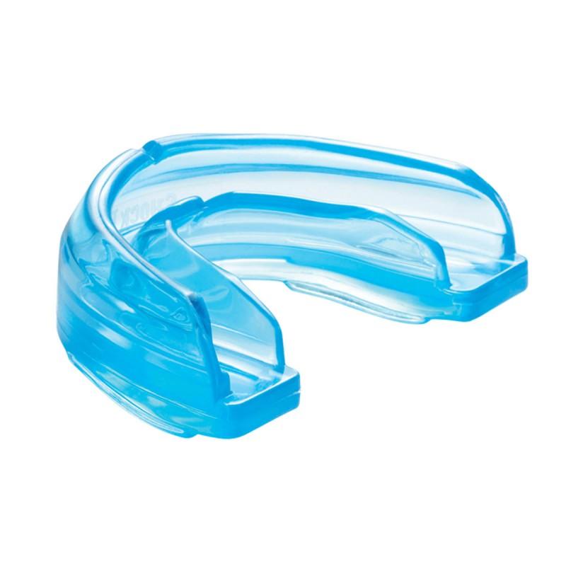 Shock Doctor Mundschutz Braces-Zahnspangen Zahnschutz Blau