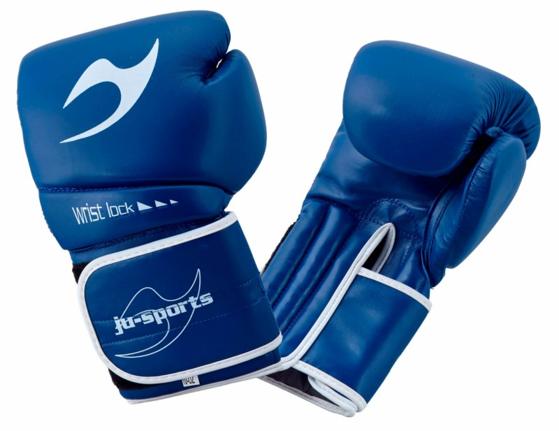 ju- Sports C16 Competitor Boxhandschuhe PU 10 Oz Blau