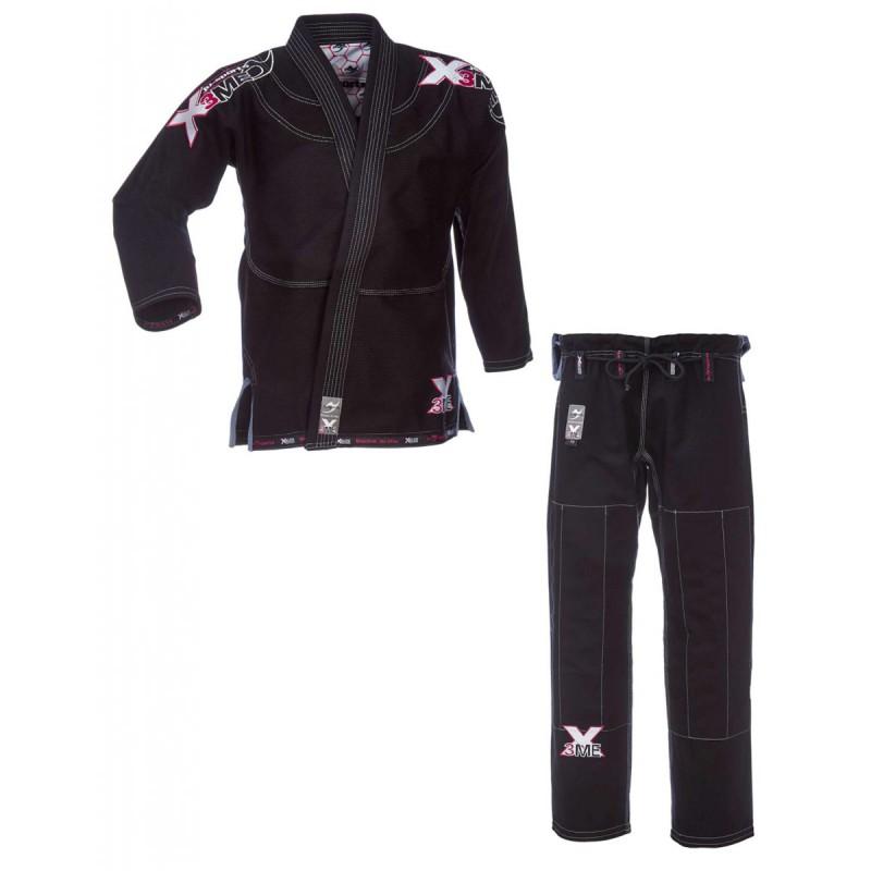 ju- Sports Amazona BJJ Extreme 2.0 Black Pink