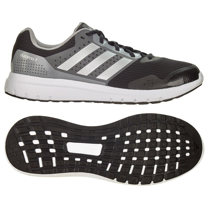 Abverkauf Adidas T16 Schuhe Core Duramo 7m Black Silver