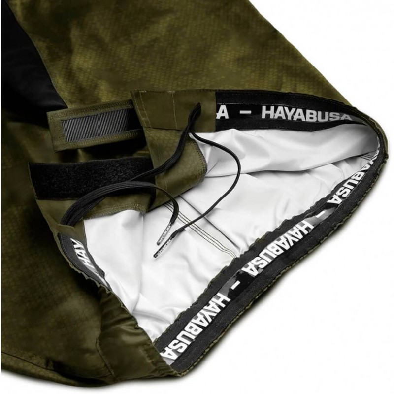 Hayabusa Hex Mid Length Fightshorts Green