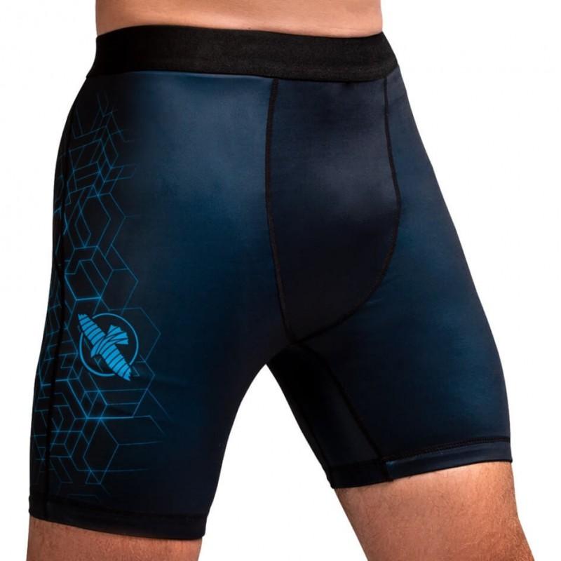 Hayabusa Geo Vale Tudo Shorts Blue