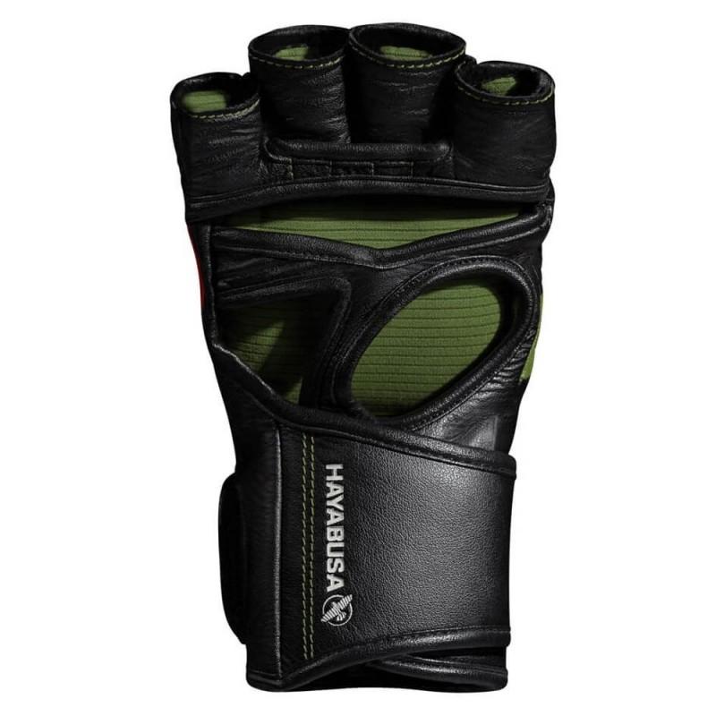 Hayabusa T3 4oz MMA Handschuh schwarz grün