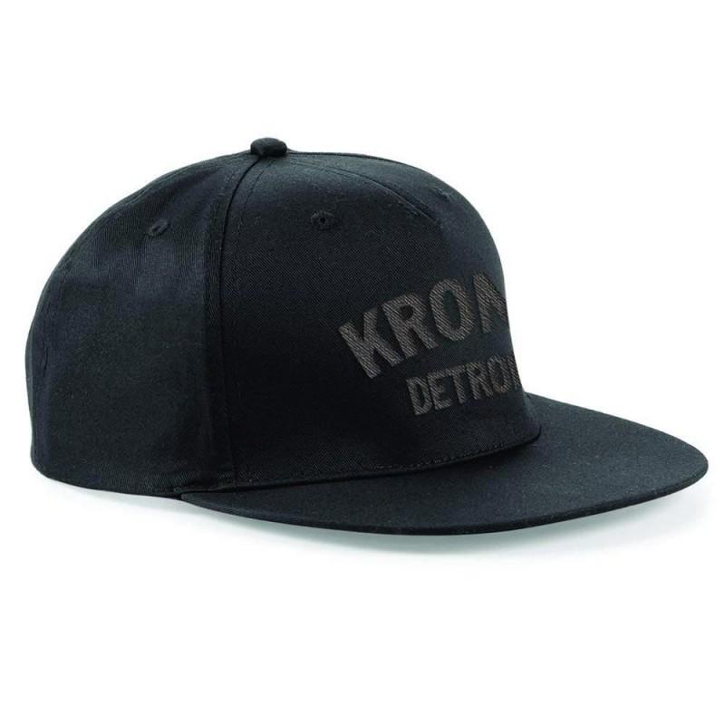 Kronk Detroit Snapback Cap Black